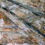S/T. H Manuel Rojas. 50x50 cms. Mixta sobre tela