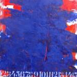 S/T. H. Camilo Mori. 50x50 cms. Encáustica sobre tela
