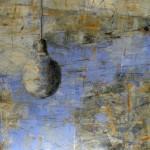 S/T. H. Nicomedes Guzmán. 50x50 cms. Mixta sobre tela