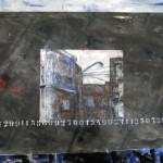 Territorio Ocupado I. 150x130 cms. Técnica mixta sobre tela