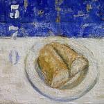 Casa. Homenaje a Gabriela Mistral. 50x50 cms. Mixta sobre tela