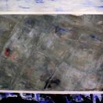 Territorio Ocupado. 150x130 cms. Técnica mixta sobre tela